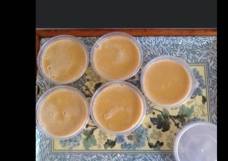 Les Meilleures Recettes de Flans vanille caramel au beurre salé