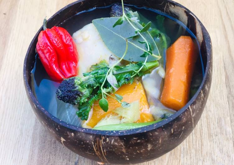 Ital Soup Stew With Herbs And Scotch Bonnet Recipe By Rachel Cookpad