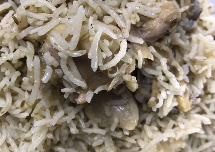 Simple Way to Make Quick Chicken yakhni pulao