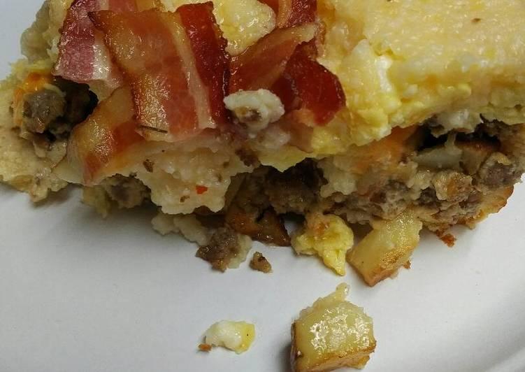 Recipe: Delicious Breakfast Pot Pie