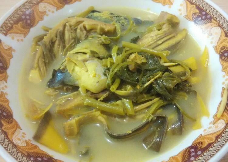 Resep Gangan(sayur) asam jantung pisang (Kalimantan) Yang Populer Pasti Endes