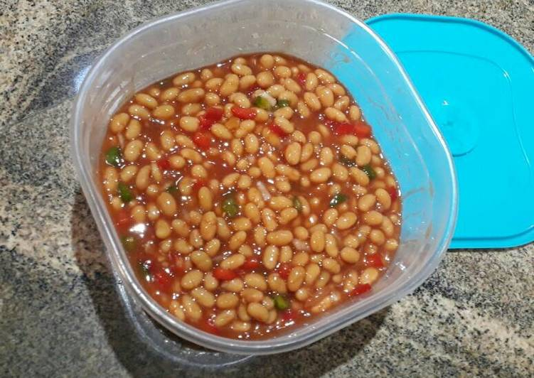 Recipe of Award-winning Baked Bean Salad