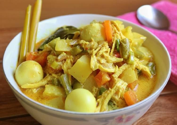 Kare Ayam & Sayuran - cookandrecipe.com