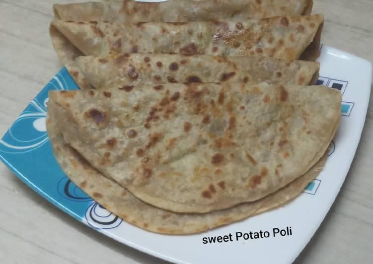 Step-by-Step Guide to Make Homemade Sweet Potato Poli