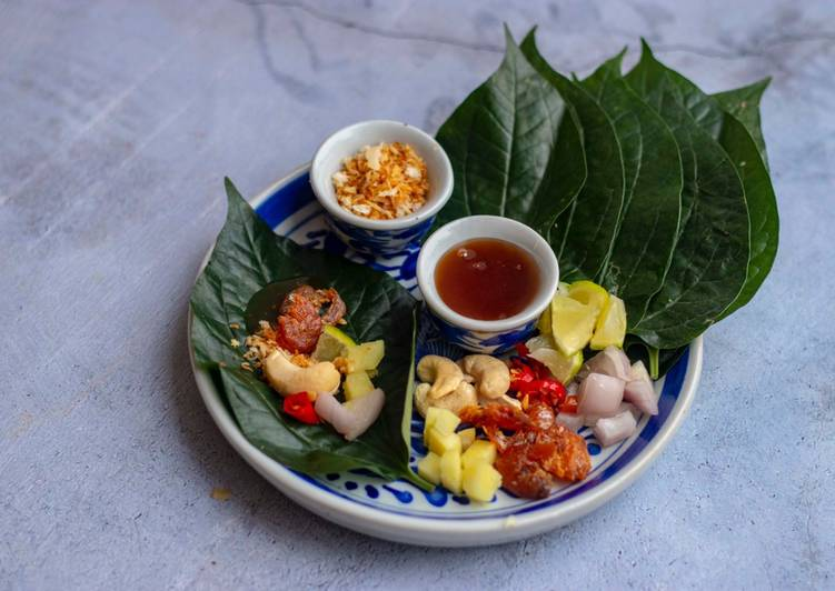Easiest Way to Make Any-night-of-the-week Miang Kham