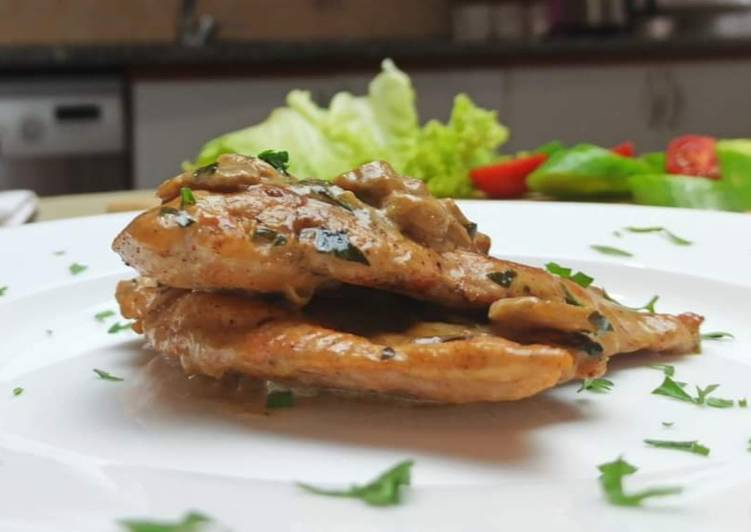 Easiest Way to Make Ultimate Yummy Creamy Chicken Tenderloin