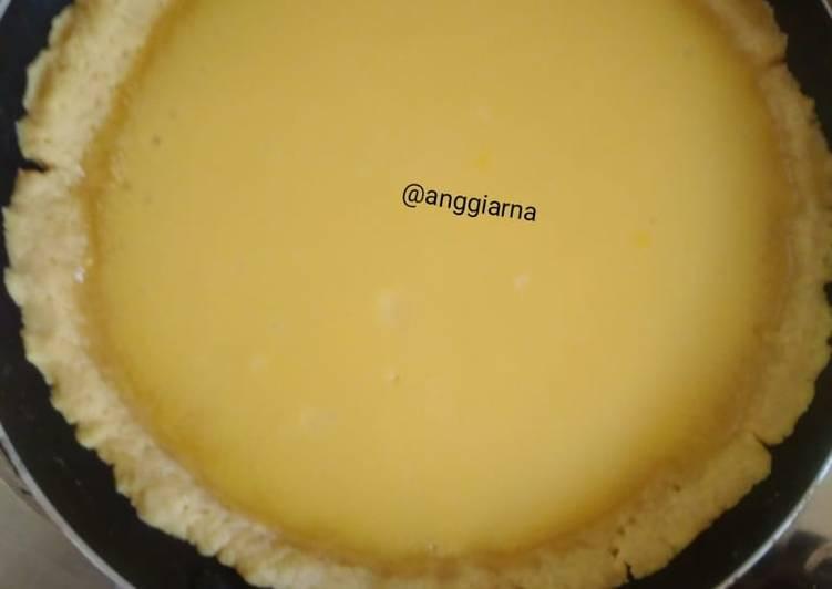 Pie susu Teflon (ANTI GAGAL, TAKARAN SENDOK. COCOK BANGET UTK PEMULA) ada tips dlam note dibawah ini
