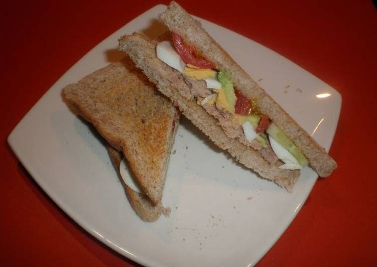 Sándwiches Vegetales Con Cherrys Receta De Mila Reyes