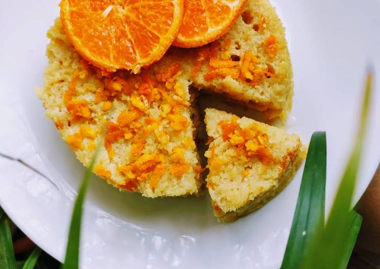 Orange cake eggless