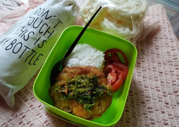 Telur Krispi Lombok Ijo