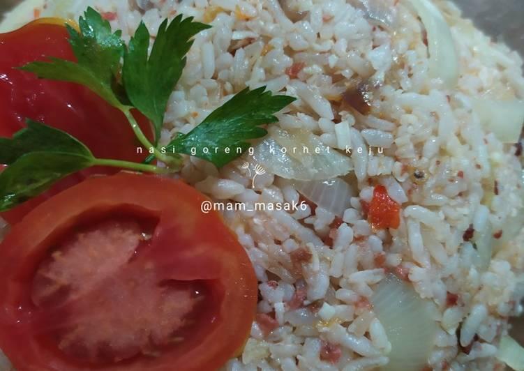 Nasi Goreng Kornet Keju