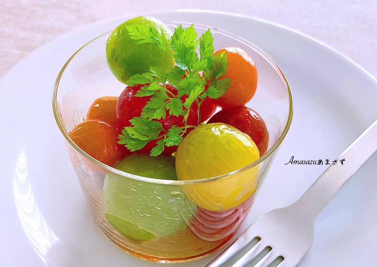 Ricetta Pomodorini marinati alla giapponese