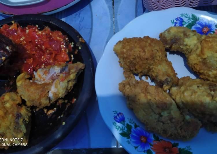 Panduan Membuat Ayam Geprek