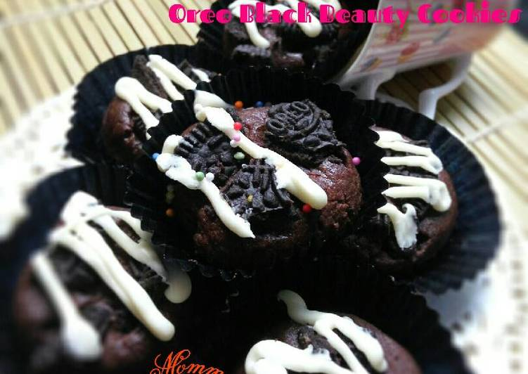 Oreo Black Beauty Cookies