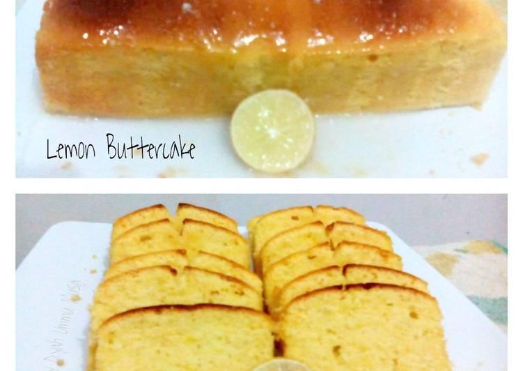 Lemon Buttercake Harum Seger