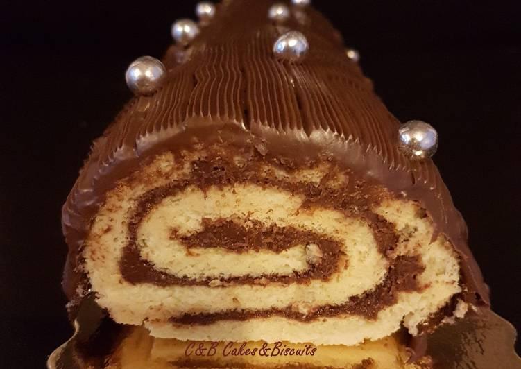 Recette De La Bûche Roulée au Nutella