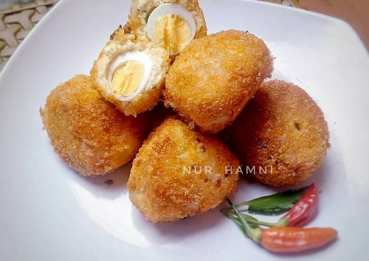 Resep Bola bola tahu isi telur puyuh oleh Nur Hamni - Cookpad
