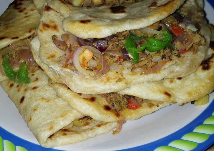 10 Minute Dinner Easy Autumn Chapatti omlate sepup