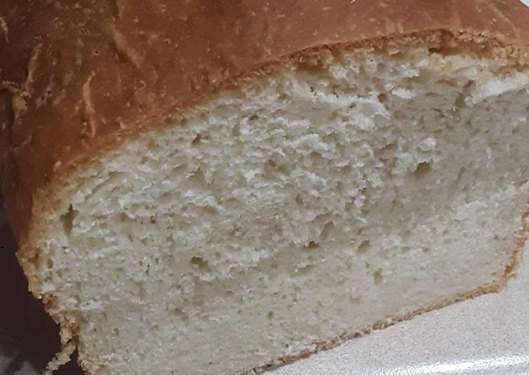 Mums homemade white bread