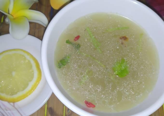 Sup Kosong Nasi Ayam