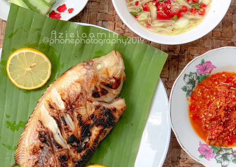 Ikan Talapia Bakar #marathonRaya #ikan #minggu3 - resepipouler.com