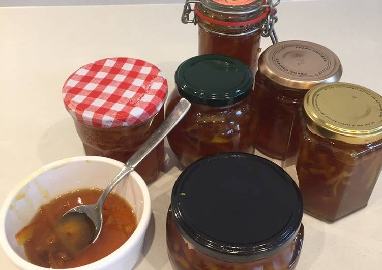 Easiest Way to Make Perfect Orange Marmalade