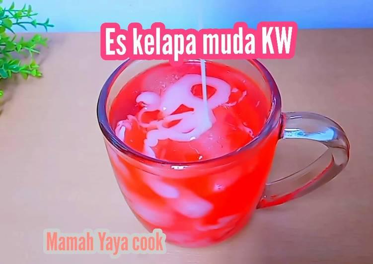 Es kelapa muda KW