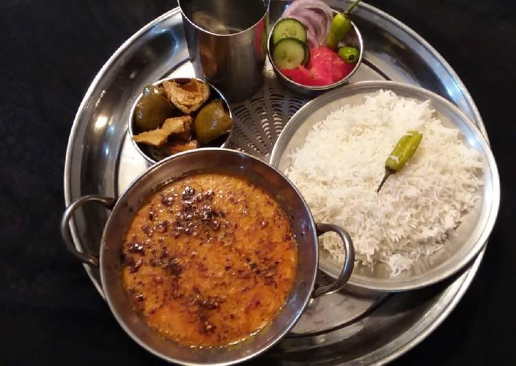 Turn to Food to Boost Your Mood Punjabi Daal Chawal