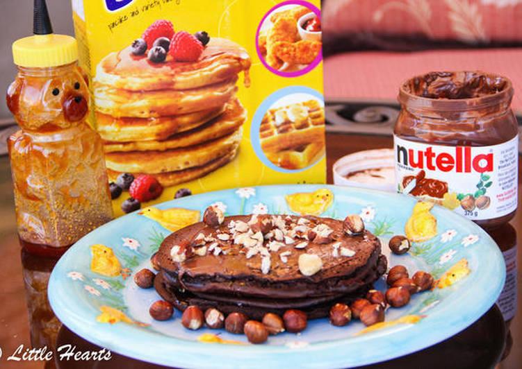Quick and Easy Recipe: Perfect Chocolate Hazelnut Pancakes