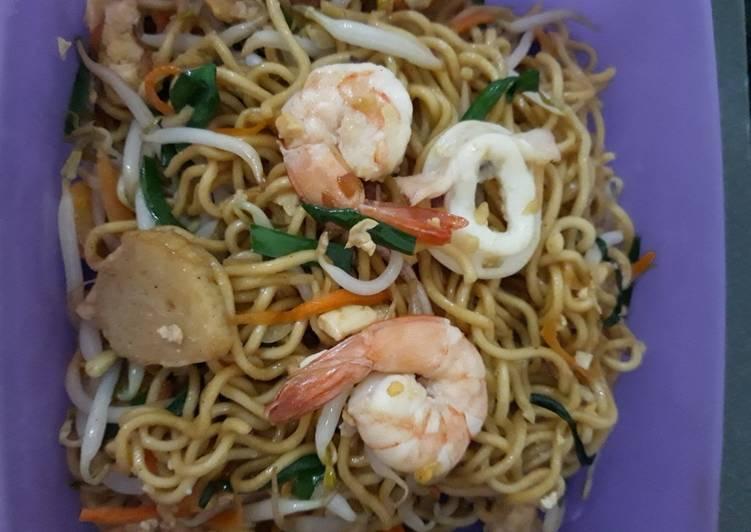 Resep Mie Goreng Seafood Paling Joss