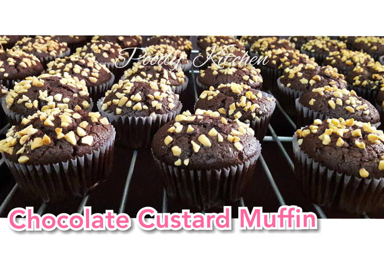 Chocolate Custard Muffin