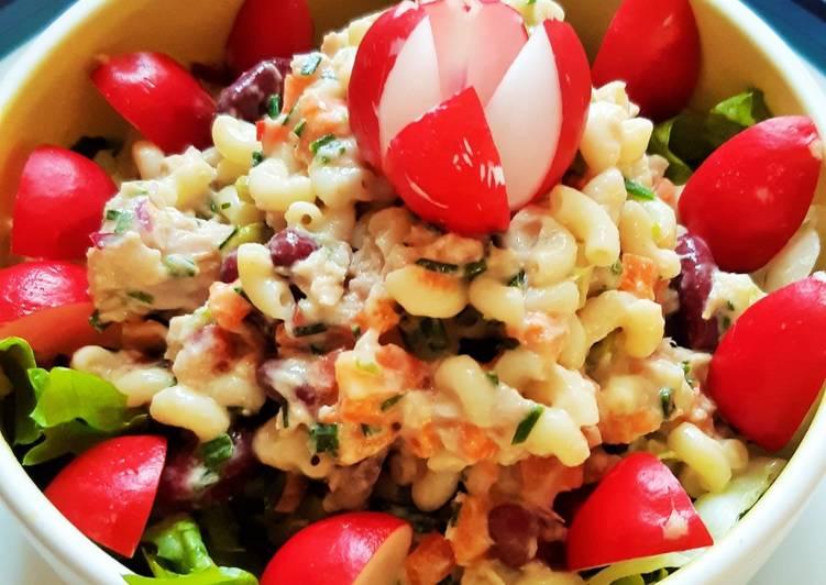 Recette: Appétissant Coquillettes en salade fraîcheur