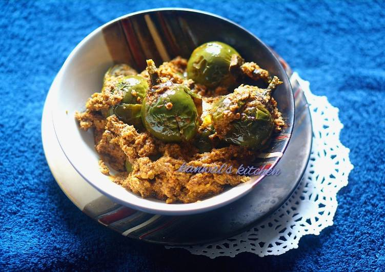 Sour brinjal curry haidrabad style Deciding on Healthy and balanced Fast Food