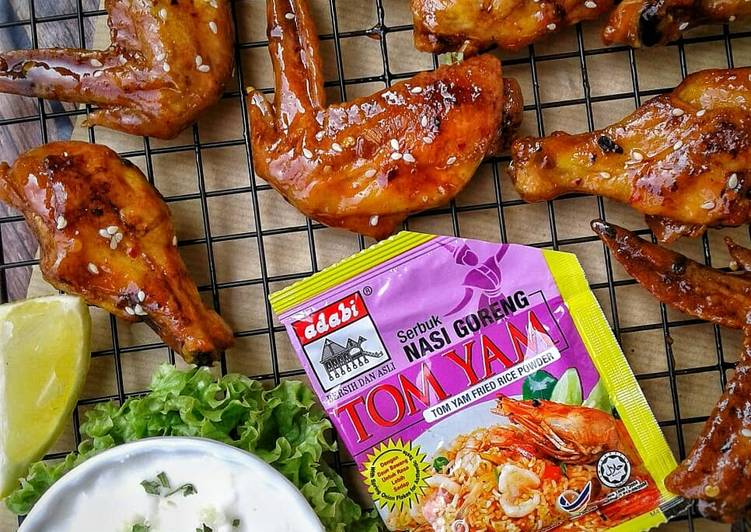 Tom Yam Glazed Chicken - velavinkabakery.com