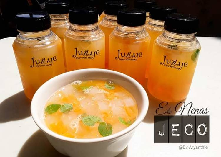 92. Es nanas jelly coco