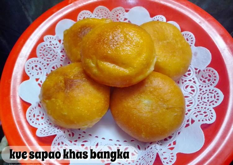 Kue Sapao khas bangka