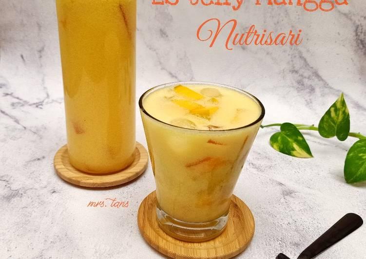 Es Jelly Mangga Nutrisari