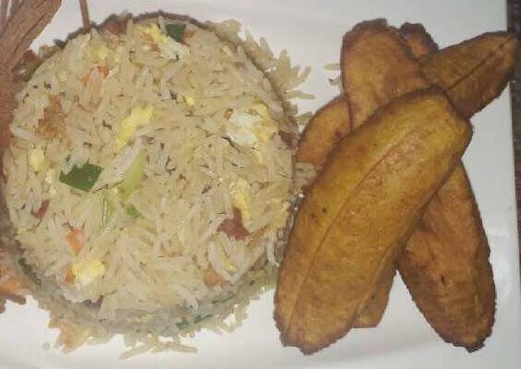 Fried rice and dodo