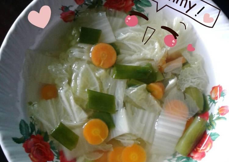 Resep Sop Bening Tanpa Minyak Oleh Icha Kurniawan Cookpad