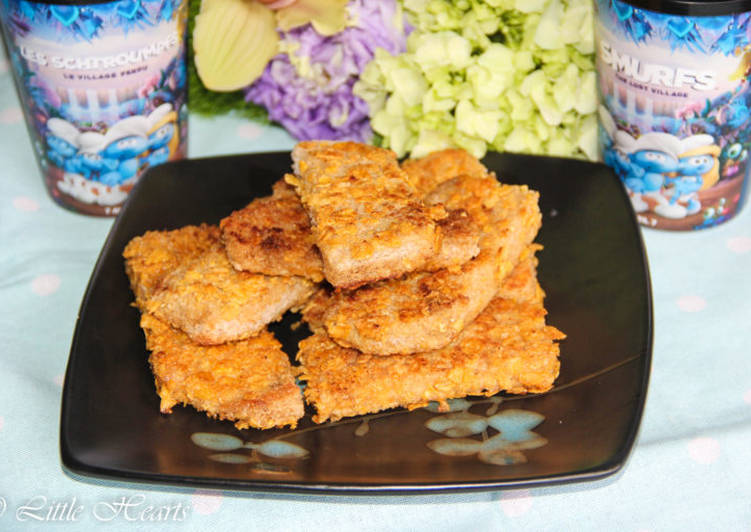 Crunchy Corn Flakes Crusted French Toast Sticks
