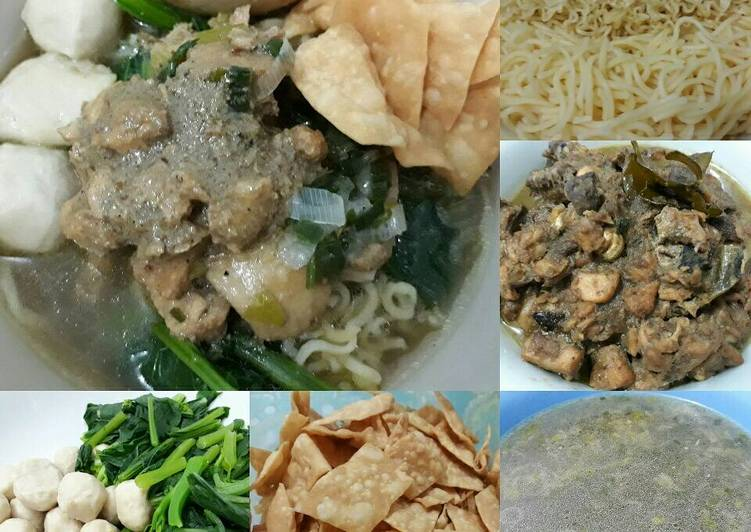 Resep Mie Ayam Bakso Telur oleh Ratih - Cookpad