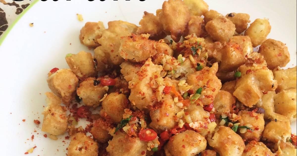 Resep Tahu Crispy Cabe Garam Oleh Dini Rahmawati Cookpad