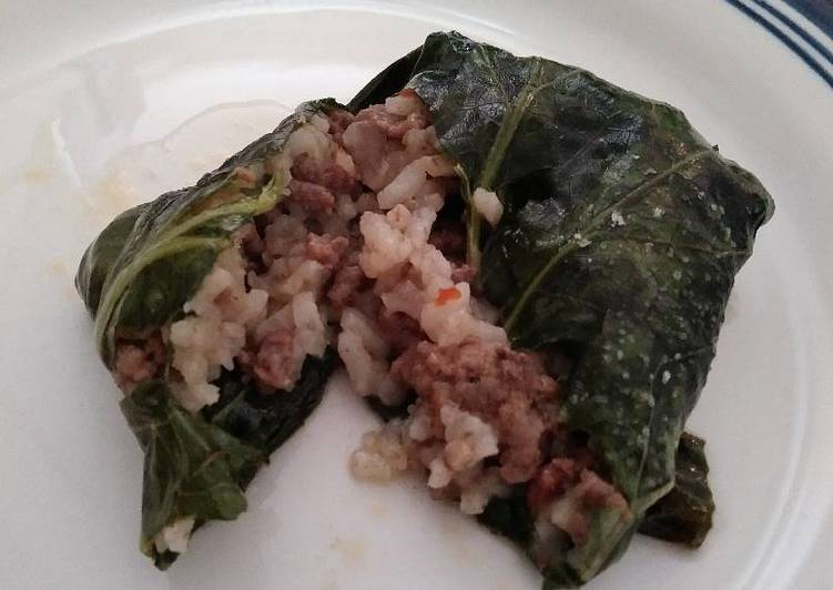 Dirty rice collard rollups