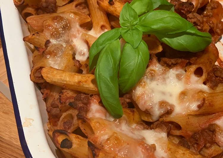 Recipe of Quick Bolognaise Pasta Bake