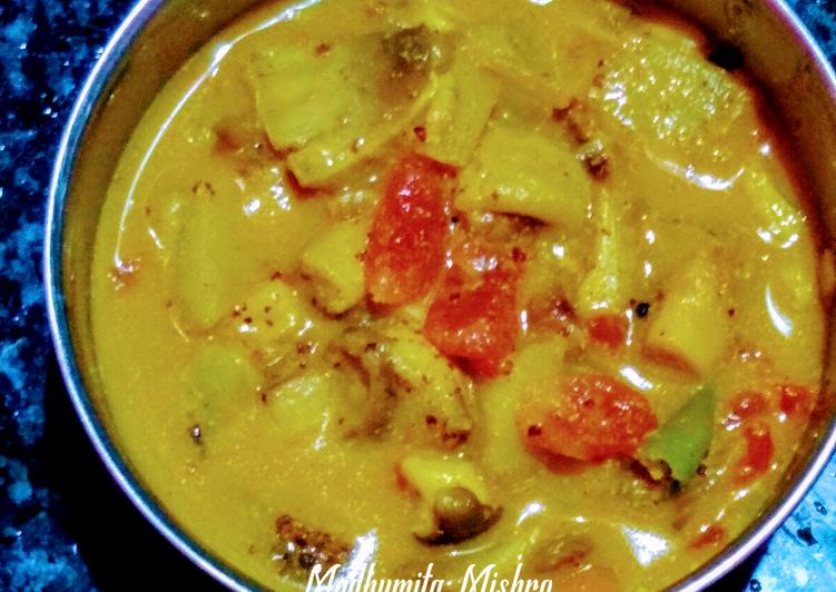 Chhatu Besara (Mushrooms in mustard gravy)