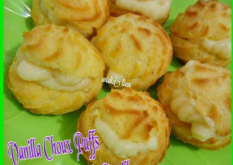 Choux Puff a.k.a Kue Soes