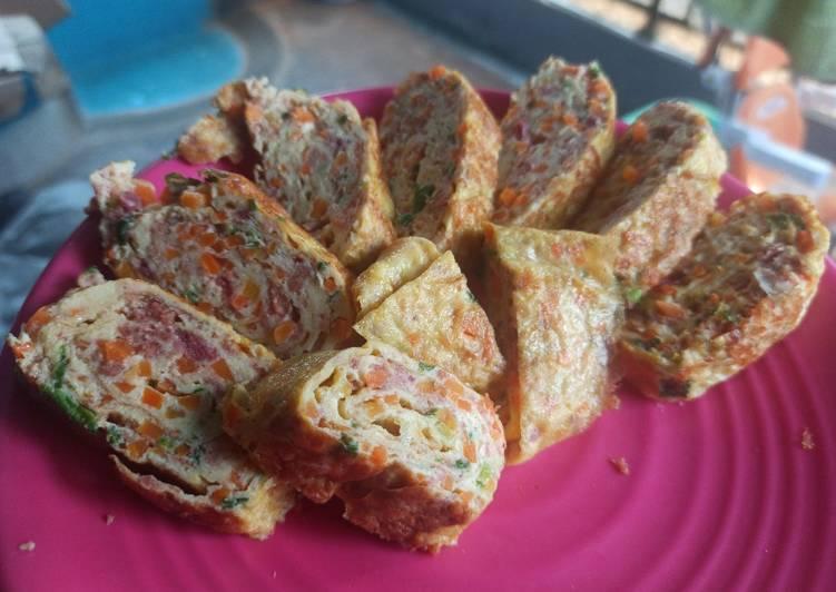 Egg Roll Kornet Sayur