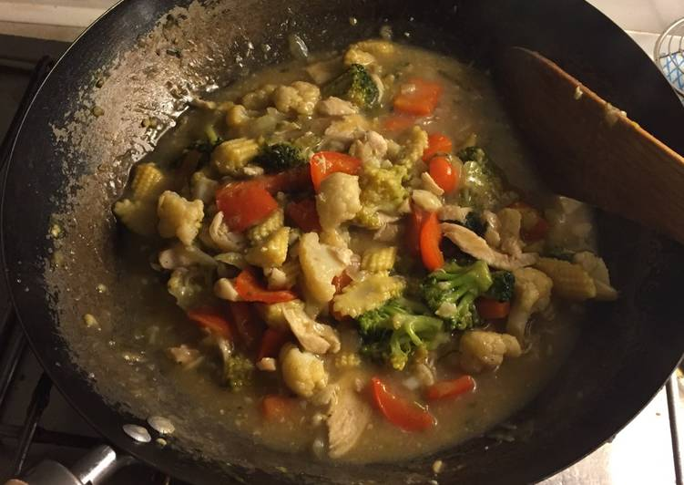 Recipe: Yummy Asian Stir-fried Vegetable (Capcay)