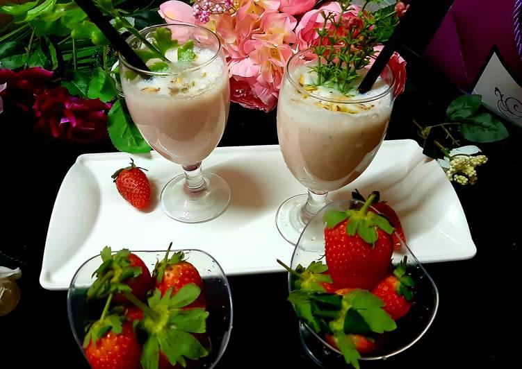 Simple Way to Make Ultimate Strawberry Milk Shake