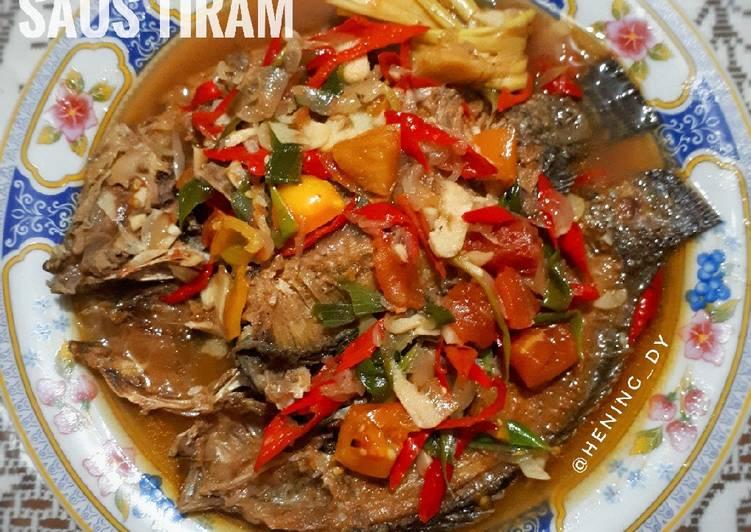 Ikan Mujair Saus Tiram